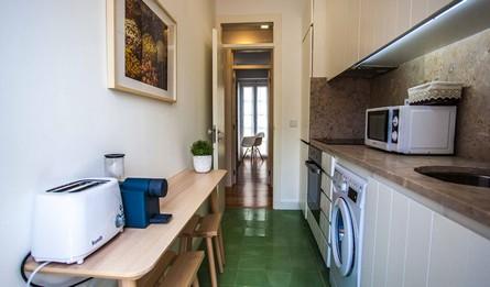 Hebergement Local Les Maisons Longue Duree T2 Portugal Lisbonne Amoreiras Flats 2 Cocina Pateodasbuganvilias